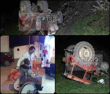 Cenaze dönüşü kaza yaptılar: 2 YARALI