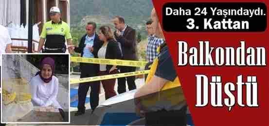Taraklı'da Balkondan Düşen Genç Kız Hayatını Kaybetti