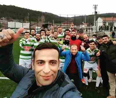 Kaymakam Koç'tan galibiyet selfiesi