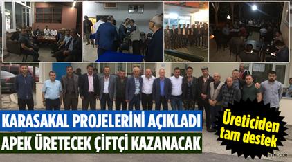 APEK Üretecek, Çiftçi Kazanacak..
