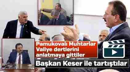 Vali Balkanlıoğlu Muhtarlarla Buluştu.