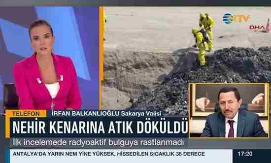 Vali Balkanlıoğlu Atıklar Hakkında Konuştu