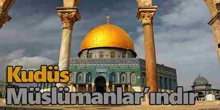 Cuma Namazı Sonrası Kudüs Kararı Protesto Edilecek