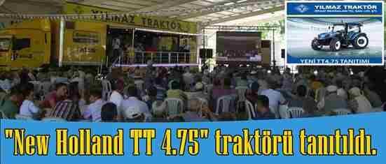 TT 4.75 Traktör Tanıtıldı